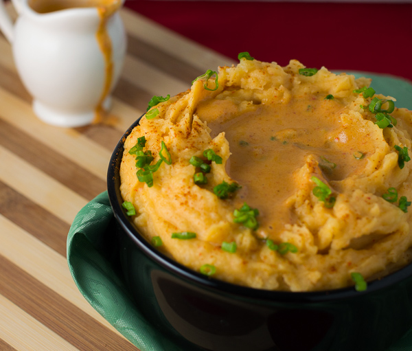 Thai Red Coconut Curry Mashed Potatoes