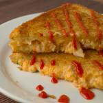 Crab Rangoon Grilled Cheese Sandwich