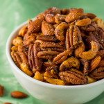 Roasted Red Curry Spiced Nuts