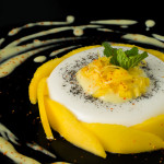Spicy Coconut Mango Panna Cotta