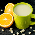 Orange White Hot Chocolate