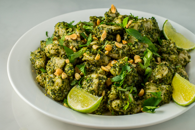 Gnocchi With Thai Pesto