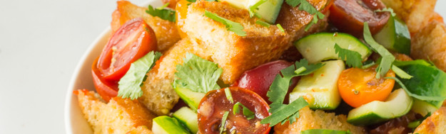 Thai Sweet Chili Panzanella Salad