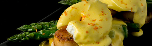 with Citrus Hollandaise