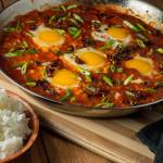 Szechuan Shakshouka (Eggs In Purgatory)