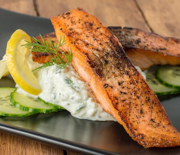Tzatziki Salmon