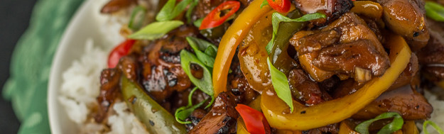 Caramelized Thai Chili Chicken