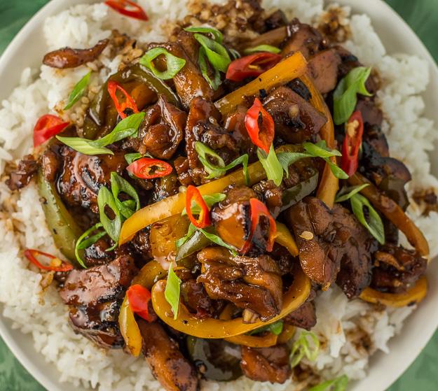 Caramelized Thai Chili Chicken