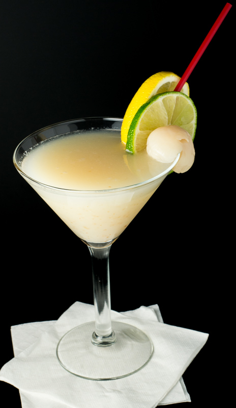 Lychee Lime Lemonade
