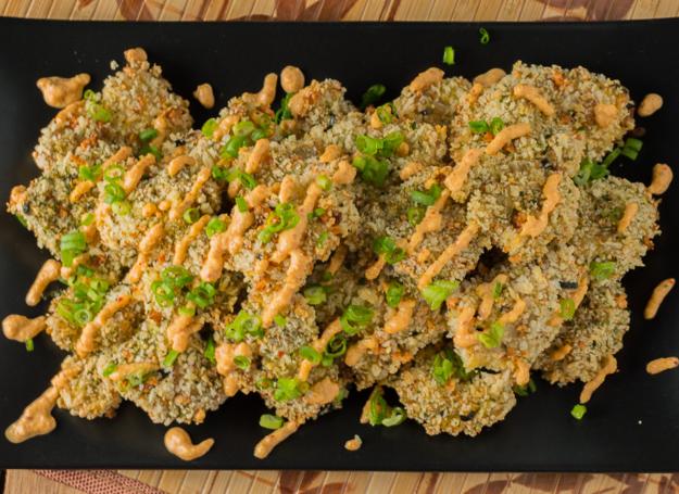 Kimchi Furikake Chicken Nuggets
