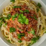 Chorizo Bolognese Fettuccine