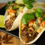 Thai Carnitas Tacos