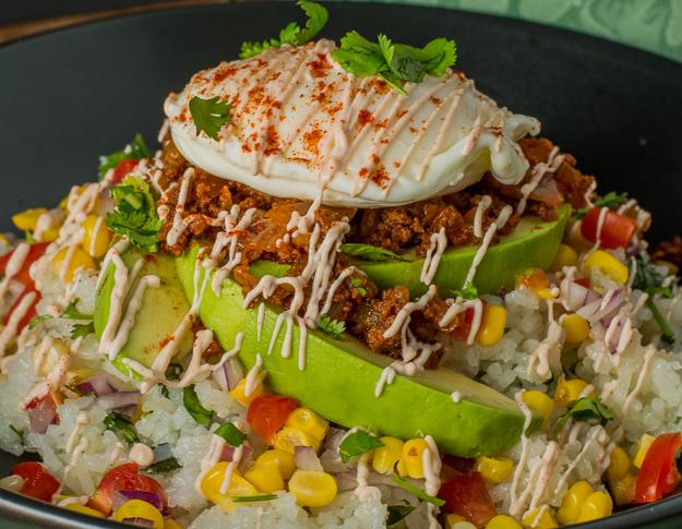 Mexican Chorizo Rice Bowl