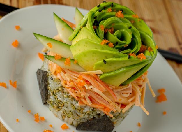 California Sushi Stack