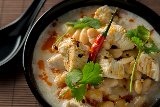Thai Coconut Chicken Chili