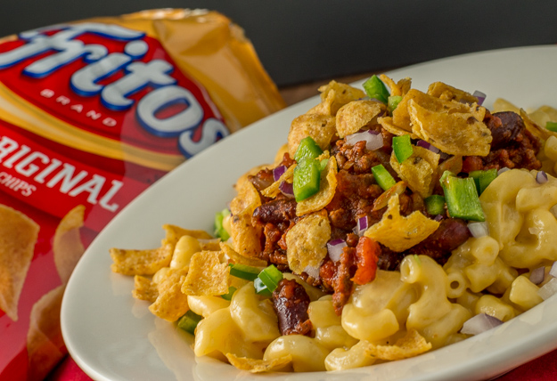 Frito Pie Mac and Cheese