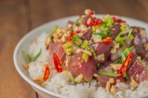 Thai Tuna Poke