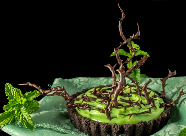 Mint Chocolate Tart