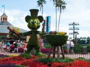 Mickey Flower Statue?